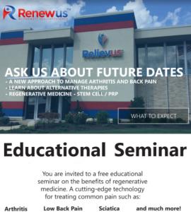 Renewus Educational Seminar: Alternative Medicine