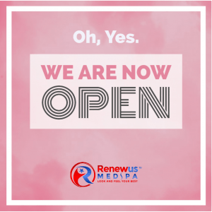 Renewus has reopened for office visits