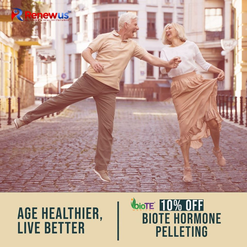 Biote Hormone Pelleting - Hormone Replacement Therapy by Renewus